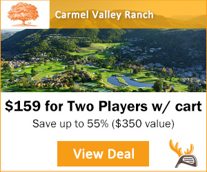Play Carmel Valley Ranch with Golf Moose Voucher