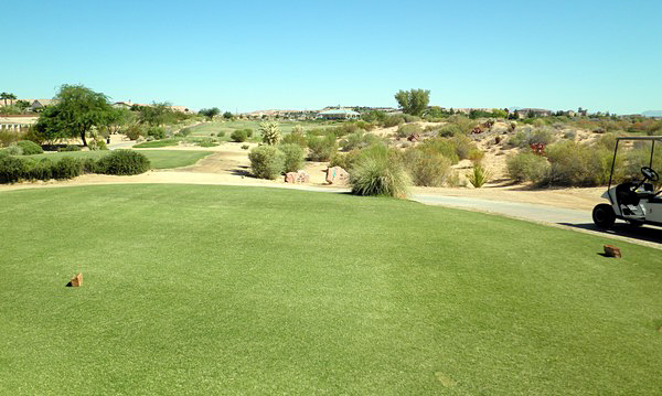 Casablanca Golf Club Mesquite Nevada Hole 18 Tee Box
