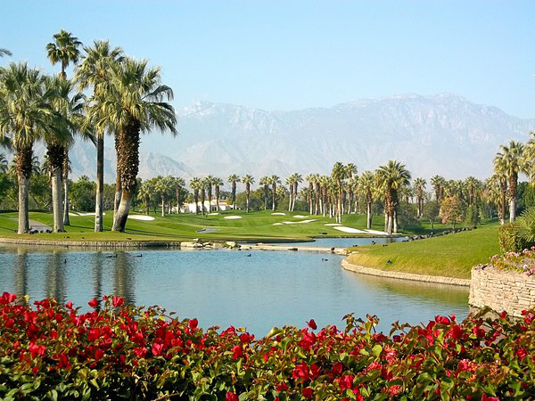 Marriot Desert Springs PALM Course Palm Desert California