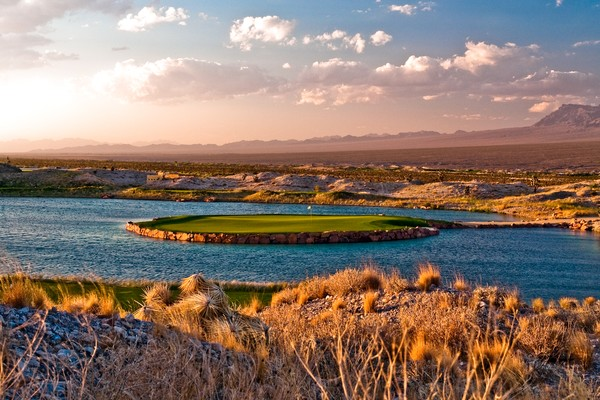 Paiute Golf Resort Las Vegas (WOLF) Las Vegas Nevada Hole 15