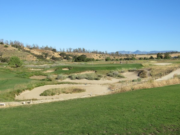 Rustic Canyon Golf Course Moorpark California. Hole 8