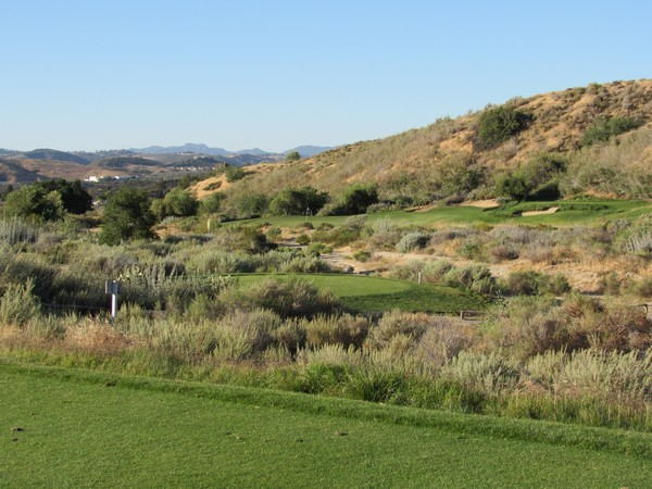 Rustic Canyon Golf Course Moorpark California. Hole 6