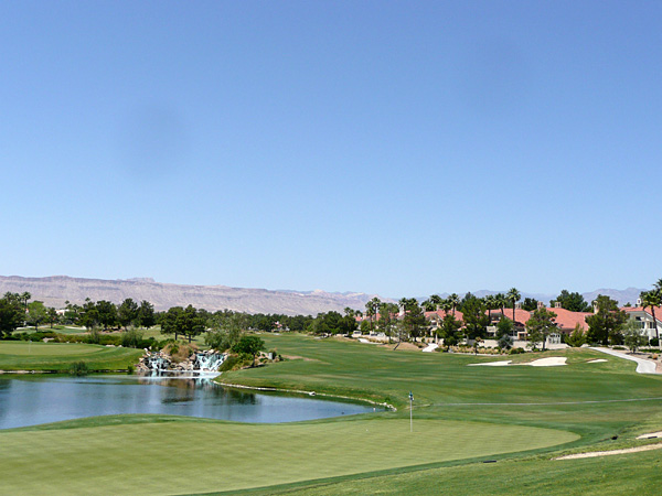 Spanish Trail Country Club Las Vegas Nevada. Hole 8 CANYON par 5