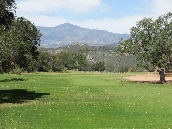 Rancho San Marcos Golf Course Santa Barbara California Hole 15 Par 4
