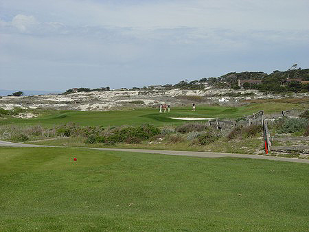 Spanish Bay Golf Links Pebble Beach, California. Hole 16