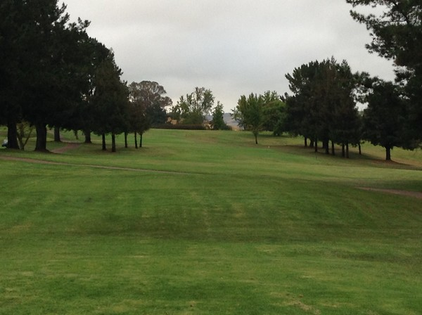 Boundary Oak Golf Coruse Walnut Creek, California. Hole 9 Par 4 391 Yards
