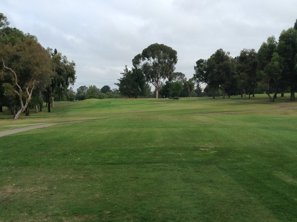 Boundary Oak Golf Course Walnut Creek, California Hole 17 Par 3