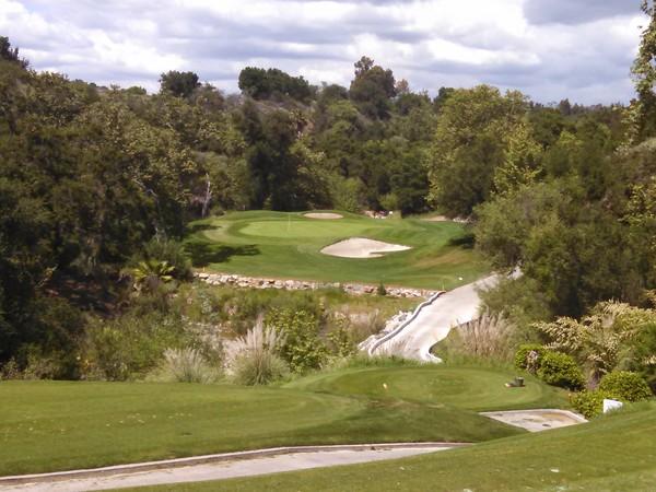 Tijeras Creek Golf Club Rancho Santa Margarita California Hole 16