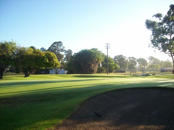 Seabee Golf Club Port Hueneme California Hole 1