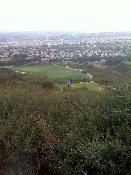 Journey at Pechanga Temecula California. Hole 6 Par 4 from the Tips.