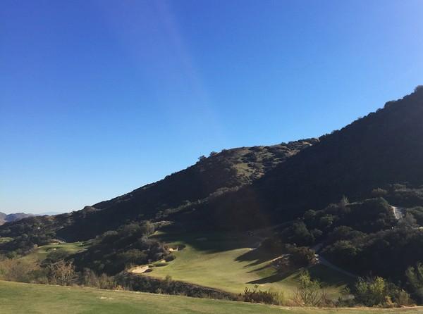 Champions Club at the Retreat Corona California. Hole 1 Par 5