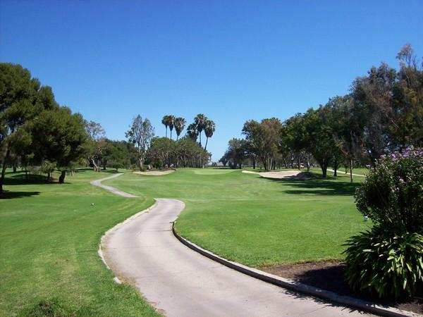 Costa Mesa Country Club MESA LINDA Course Costa Mesa California Hole 2