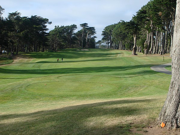 TPC Harding Park San Francisco California. Hole 13 Par 4