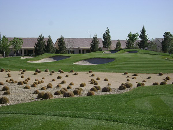 Aliante Golf Club North Las Vegas Nevada Hole 15
