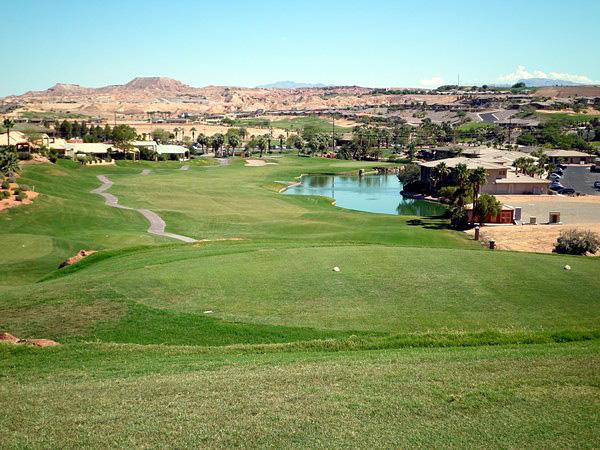 Oasis Golf Club Mesquite Nevada Hole 18 Par 4