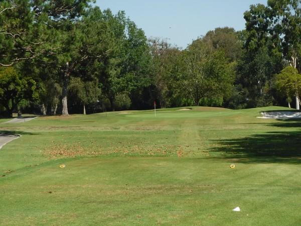 El Dorado Park Golf Course Long Beach California Hole 12 Par 3