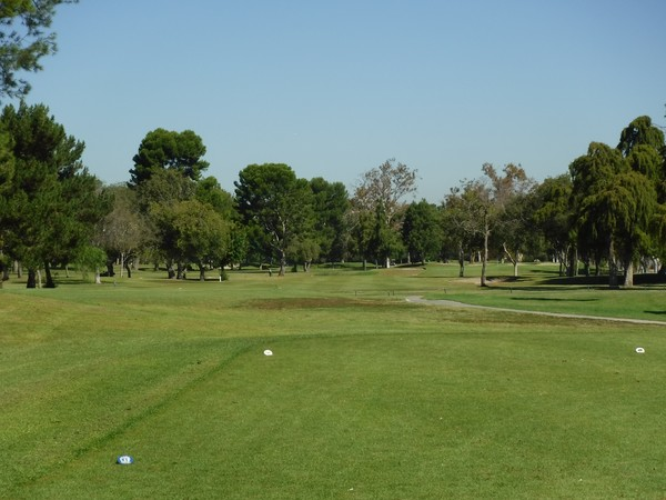El Dorado Park Golf Coruse Long Beach California. Hole 11