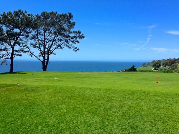 Torrey Pines Golf Course (NORTH) San Diego California Hole 2 Tee Box