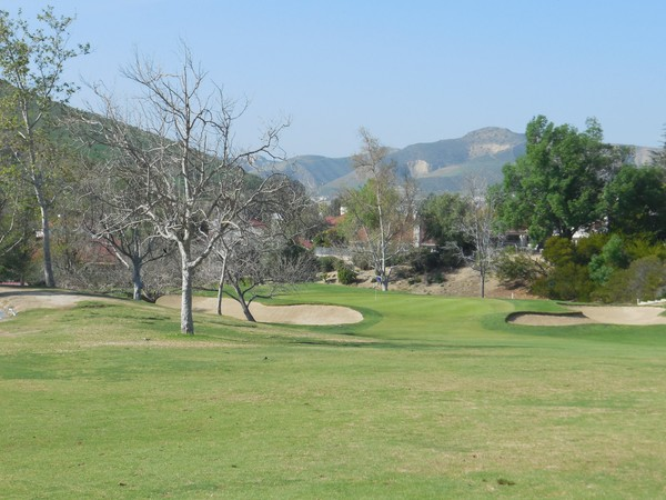 Simi Hills Golf Course Simi Valley CA Hole 5