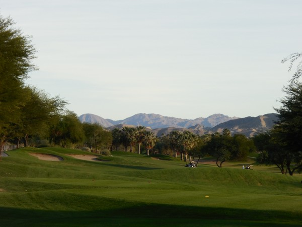 Tahquitz Creek (RESORT) Palm Springs California Hole 14 Par 5