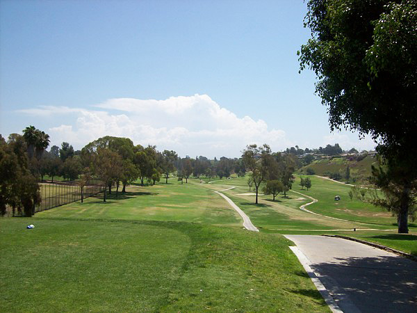 MIssion Trails Golf Course San Diego, CA. Hole 1 Par 5