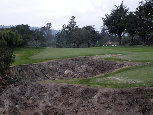 Pasatiempo Golf Club Santa Cruz California. Hole 10