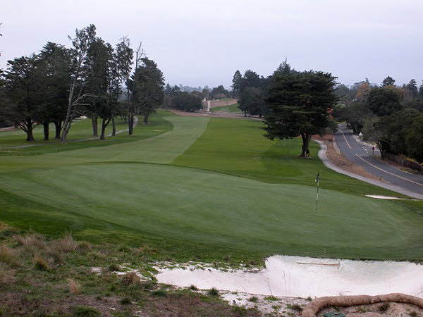 Pasatiempo Golf Club Santa Cruz CA Hole 9
