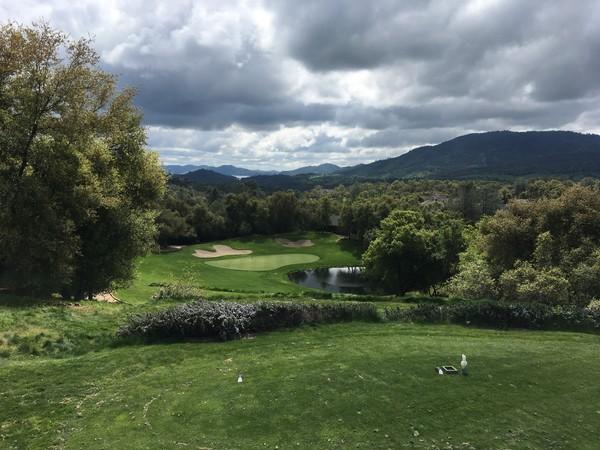 Greenhorn Creek Resort Angeles Camp California. Hole 13