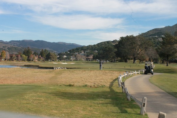 Carmel Valley Ranch Resort Carmel California Hole 4