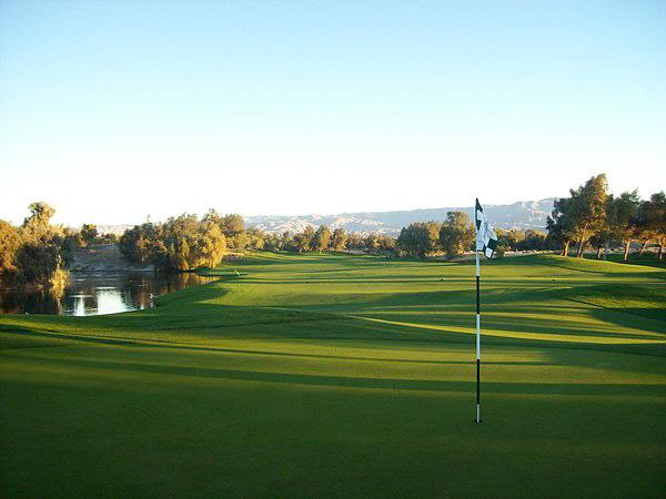 Marriott's Shadow Ridge Resort Palm Desert, CA Hole 2 Green-side