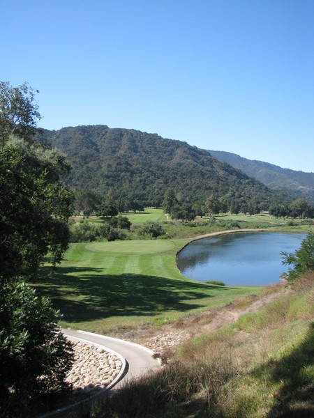 Soule Park Golf Course Ojai California Hole 10