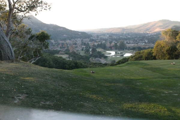 Carmel Valley Ranch Resort Carmel Calfornia Hole 16