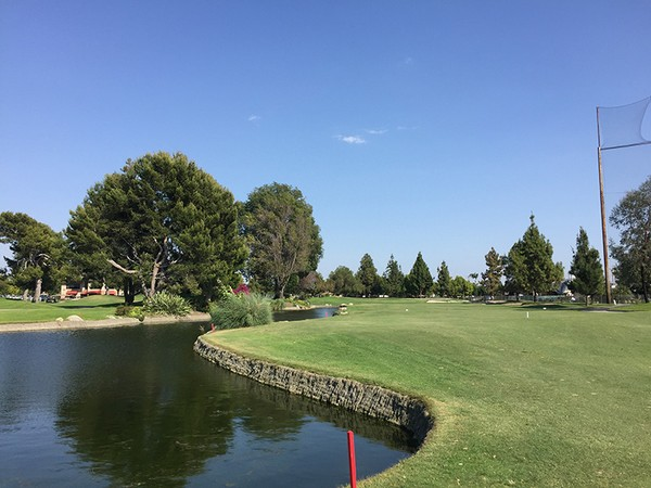 Rio Hondo Country Club Downey California Hole 9
