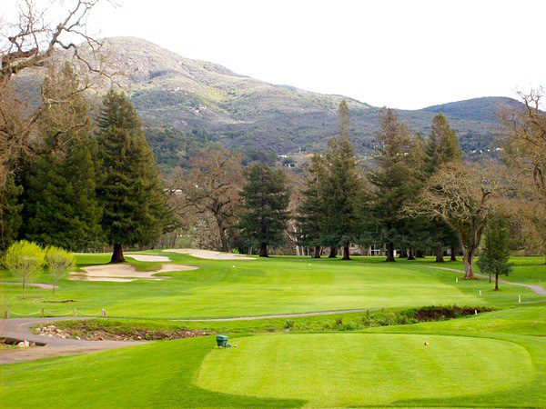 Silverado Resort & Spa Golf Course NORTH Napa California Hole 17