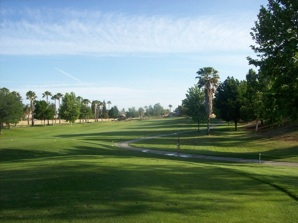 Pheasant Run Golf Club Chowchilla California. Hole 8