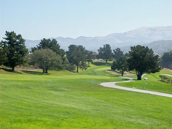 Laguna Seca Golf Club Monterey California Hole 10