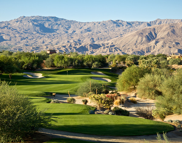 Desert Willow Golf Resort Palm Desert California MOUNTAIN VIEW Hole 5