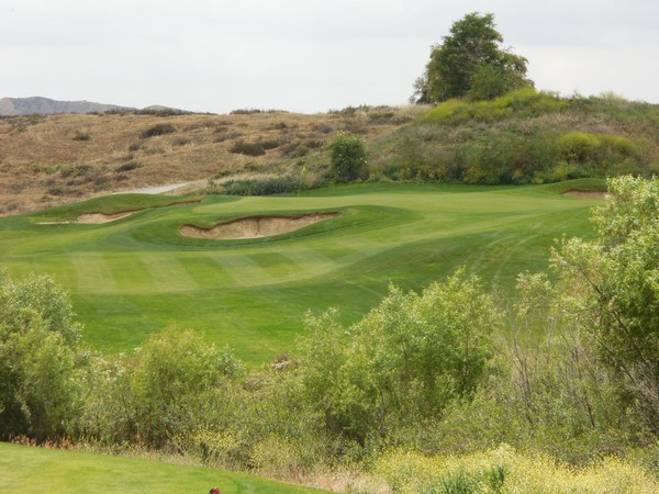 Morongo Golf Club Tukwet Canyon CHAMPIONS Hole 17