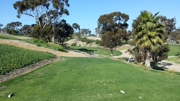 Goat Hill Park Golf Course Oceanside, California. Hole 12 Tee