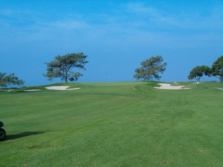 Torrey Pines Golf Course (SOUTH) San Diego California. Hole 12