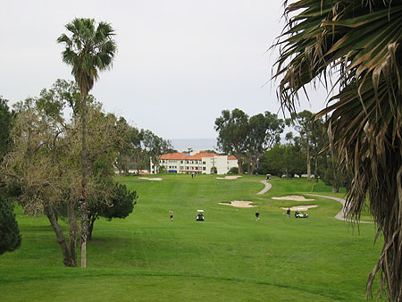 San Clemente Golf Club San Clemente California. Hole 8