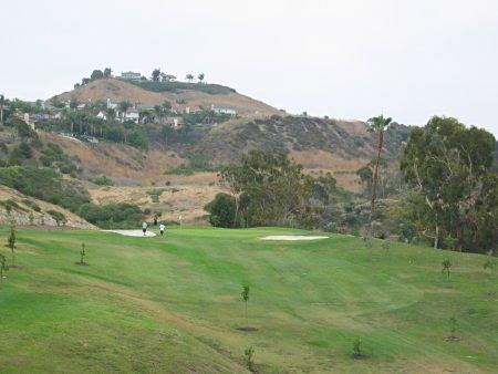 Shorecliffs Golf Club - Hole 15 view from tee box