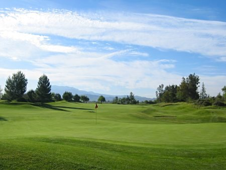 Oak Valley Golf Club Beaumont California Hole 1