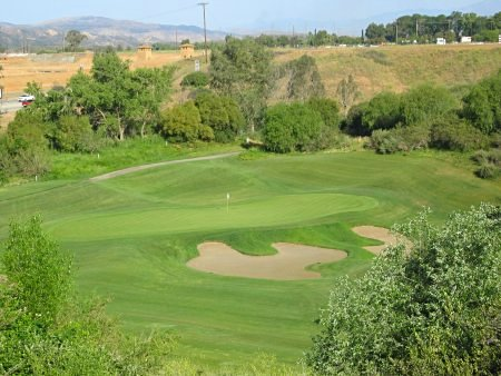 Oak Valley Golf Club Beaumont California Hole 3