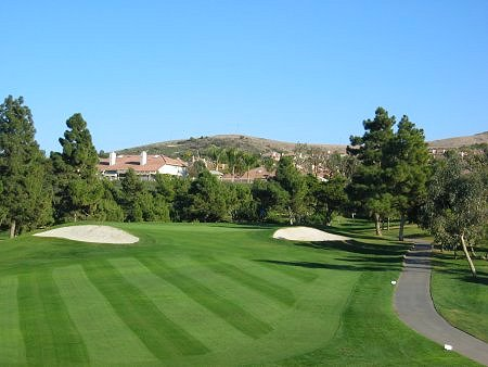 San Juan Hills Golf Club San Juan Capistrano, CA. Hole 7 Approach