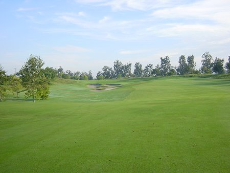 Oak Creek Golf Club Irvine, California. Hole 1