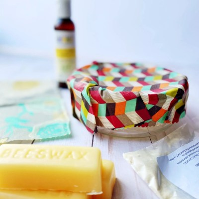 How To Make Beeswax Food Wraps with Pine Resin