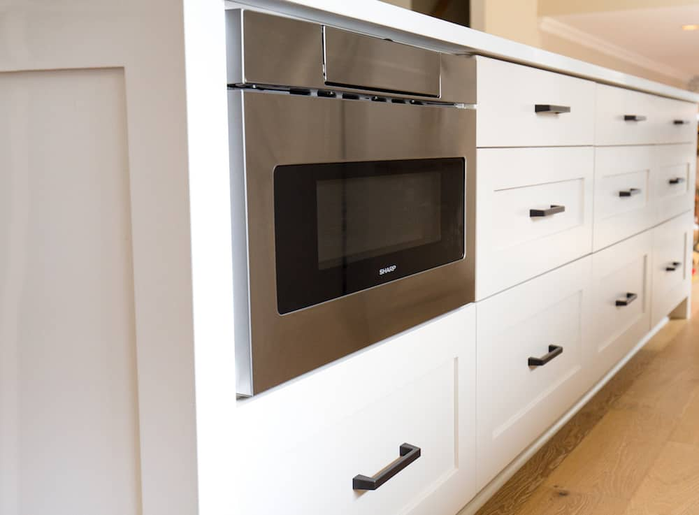our sharp microwave drawer oven