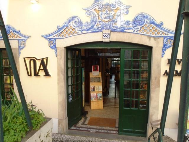 Die Livraria Almedina Rato in Lissabons Príncipe Real.