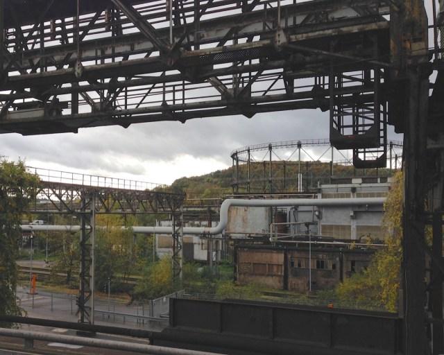 Eine in ihrer Größe und Bedeutung einzigartiges Stahlwerk: Das Weltkulturerbe Völklinger Hütte in Völklingen, Saarland.